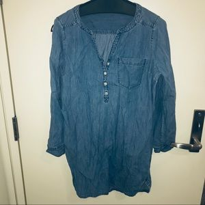 Express jean shirt or dress